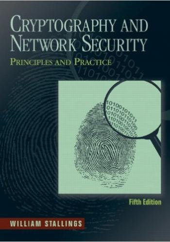 Cryptography and Network  Security, Principles and Practice