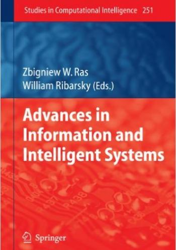 Advances in Information and Intelligent Systems(studies in Computational Intelligence) [Hardcover]