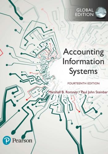 Accounting information Systems (14th edition) GE