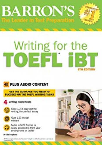 Barron's Writing for the TOEFL iBT: with Audio CD (Barron's How to Prepare for the Computer-Based Toefl Essay)