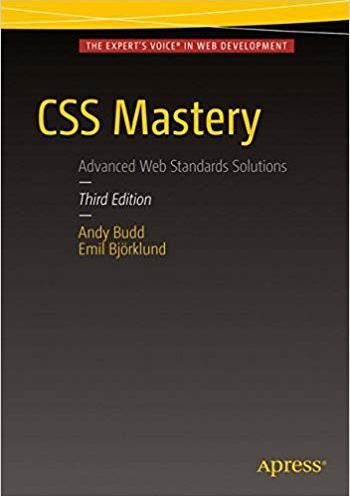 CSS Mastery: Advanced Web Standards Solutions - 3 edition