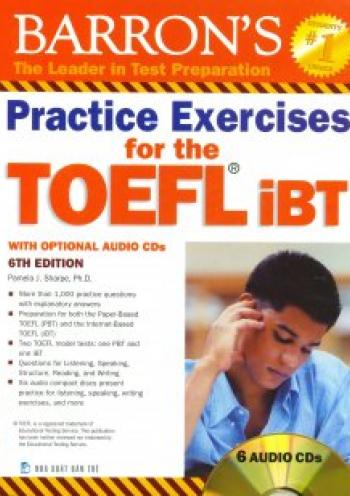 Barron's Practice Exercises for the TOEFL iBT