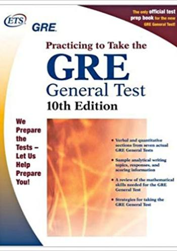 GRE: Practicing to Take the General Test (Practicing to Take the Gre General Test) - 10 edition