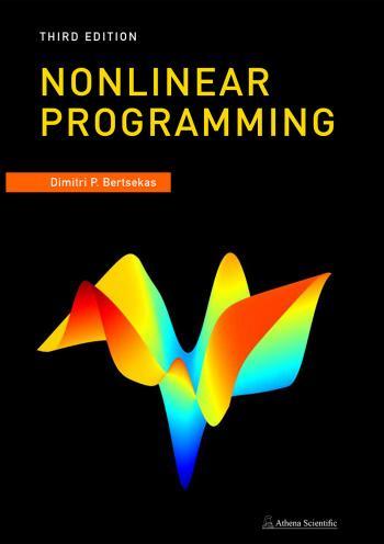 Nonlinear Programming - 3 edition