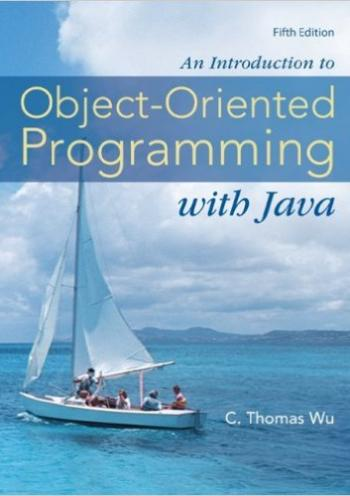 An Introduction to Object-Oriented Programming with Java,