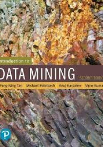 Introduction to data mining - 2 edition