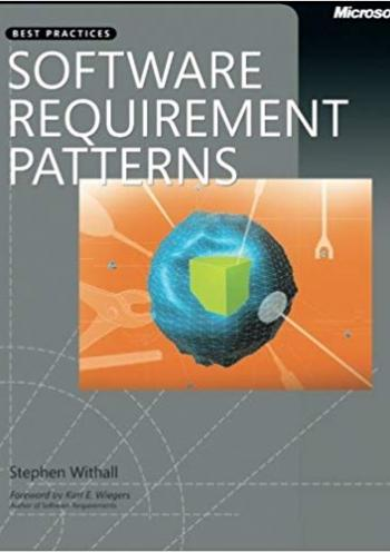 Software Requirement Patterns (Best Practices)