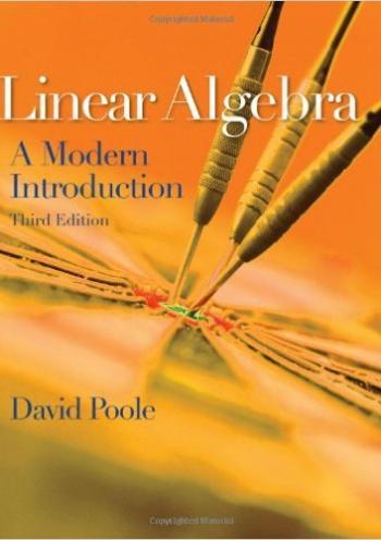 Linear Algebra, A Mordern Introduction